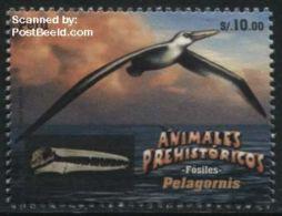 Peru 2016 Prehistoric Animals 1v, (Mint NH), Prehistoric Animals - Birds - Nature
