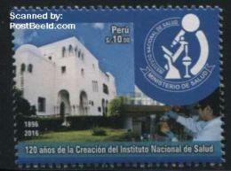 Peru 2016 National Health Institute 1v, (Mint NH), Health