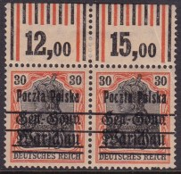 POLAND 1918  Form I Fi 14 Mint Hinged