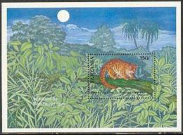 Tanzania 1989 African Palm Civet S/s, (Mint NH), Nature - Animals (others & Mixed)