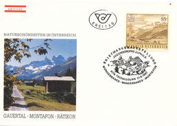 L3199 - Austria (1987) 6774 Tschagguns: Gauertal Montafon-Rätikon (Vorarlberg)