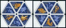 Sweden 1999 Zodiac 12v, (Mint NH), Science - Astronomy & Astrology