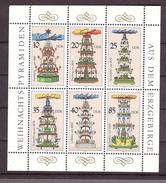 DDR Michel Nr. 3134-3139 Kleinbogen