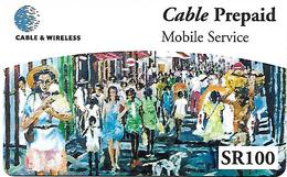 @+ Seychelles - Mobile Service C&W - SR100 - Charles Dodo