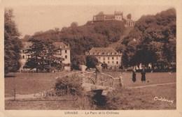 URIAGE                                   Le Parc Et Le Chateau