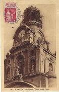 """1933- C P A De Nantes ( L. Atl. )  Affr. 50 C Paix PUB """" Arc En Ciel """"  Oblit. CAD NANTES / FOIRES-COMMERCIALES - Marcophilie (Lettres)"""