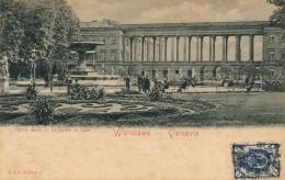 G55 - POLOGNE - WARSZAWA - VARSOVIE - Le Jardin De Saxe