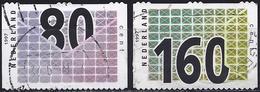 Netherlands 1997 - Stamp For Business Post ( Mi 1603/04 - YT 1579/80 ) - Oblitérés