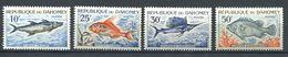 194 DAHOMEY 1965 - Yvert 225/28 - Poisson - Neuf ** (MNH) Sans Trace De Charniere