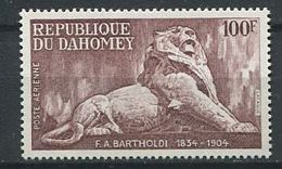 194 DAHOMEY 1974 - Yvert A 219 - Lion Bartholdi - Neuf ** (MNH) Sans Trace De Charniere