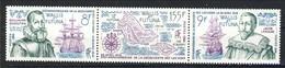 WF 1986 Serie N. 344-346 Trittico MNH Cat. € 6.10 - Wallis E Futuna