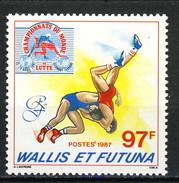 WF 1987 N. 359 Mondiali Di Lotta MNH Cat. € 3 - Wallis E Futuna