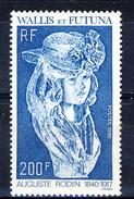 WF 1990 N. 395 Rodin MNH Cat. € 6.50 - Wallis E Futuna