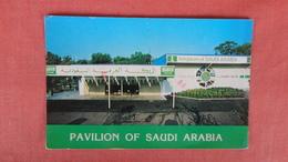 Pavilion Of  Saudi Arabia Ref --2498 - Saudi Arabia