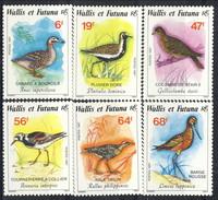 WF 1987 Serie N. 369-374 Uccelli MNH Cat. € 7.75 - Wallis E Futuna