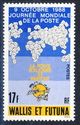 WF 1988 N. 382 Giornata Della Posta MNH Cat. € 1 - Wallis E Futuna