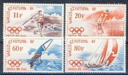 WF 1988 Serie N. 378-381 Olimpiadi Di Seoul MNH Cat. € 6.25 - Wallis E Futuna