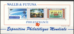 WF 1989 Foglietto N. 4 PhilexFrance MNH Cat. € 29 - Blocks & Sheetlets