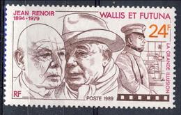WF 1989 N. 385 Jean Renoir MNH Cat. € 1.65 - Wallis E Futuna