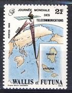 WF 1989 N. 387 Giornata Delle Telecomunicazioni MNH Cat. € 1 - Wallis E Futuna
