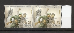 SERBIA 2017,100th ANNIVERSARY OF TOPLICA UPRISING,2v WITH ENGRAVER ,MNH
