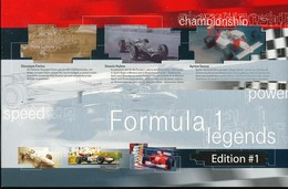 GERMANY Formel 1 Legenden  Im Folder 1-9 27 Telefonkarten -voll - Autos