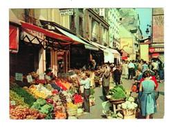 14765  CPM  PARIS  : La Rue Mouffetard ! Jolie Carte Photo !!   , ACHAT DIRECT !!! - France