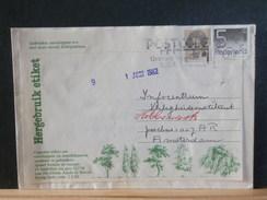 66/715  BRIEF NEDERLAND  HERBRUIK ETIKET  1982 - Period 1980-... (Beatrix)