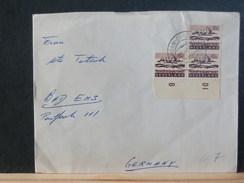 66/718  BRIEF NEDERLAND  ZEGELS BLADBOORD - Periodo 1949 – 1980 (Juliana)