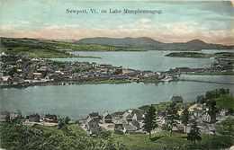 203589-Vermont, Newport, Lake Memphremagog, Bigelow's Pharmacy No 140 - United States