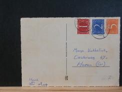 66/720    BRIEFKAART NEDERLAND  ZEGELS TRIOCOLORE 1965 - 1949-1980 (Juliana)