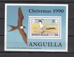 Anguilla 1990,1V In Block,birds,vogels,vögel,oiseaux,pajaros,uccelli,aves,MNH/Postfris(L3004) - Unclassified