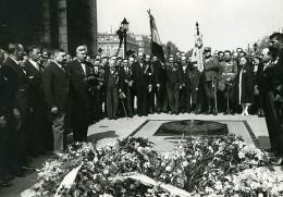 Paris Arc De Triomphe Soldat Inconnu Mr Spalaikovitch Yougoslavie Ancienne Photo Meurisse 1930 - Famous People