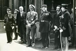 Paris Prince Nicolas De Roumanie De Hohenzollern A L'Elysée Ancienne Photo Meurisse 1930 - Célébrités