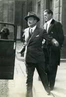 Paris Crise Ministerielle Politicien Mr Malvy Finances Ancienne Photo Meurisse 1930