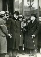 Paris Crise Ministerielle Politicien Mr Caillaud & Bouisson Ancienne Photo Meurisse 1930