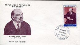 18794 Congo,  Fdc   1970  Vladimir Ilitch Lenin