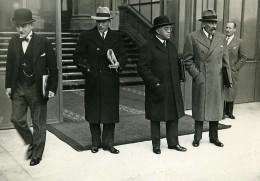 Paris Elysee Politiciens Pietri, Andre Marie, Sarraut & Dalimier Ancienne Photo Meurisse 1930 - Famous People