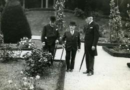 Paris Garden Party Roseraie De Bagatelle Maurice De Fontenay Ancienne Photo Meurisse 1930