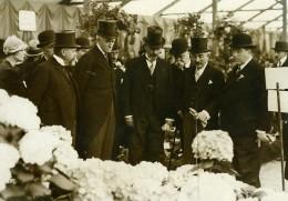 Paris Cours La Reine Exposition Internationale D'Horticulture Ancienne Photo Meurisse 1930