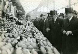 Cours La Reine Exposition Internationale D'Horticulture Albert Lebrun Ancienne Photo Meurisse 1932