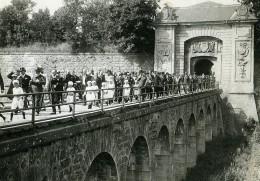 France Verdun? Cortege Présidentiel Allant Au Monument Aux Morts Ancienne Photo Meurisse 1932
