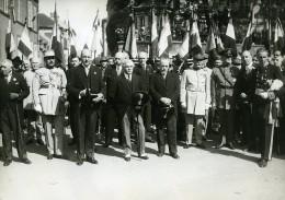 France Meaux Paul Boncour Fêtes De La Victoire De La Marne Ancienne Photo Meurisse 1932