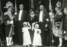 France Rambouillet Mariage Jean Lebrun & Mlle Marin Ancienne Photo Meurisse 1932