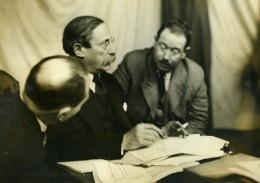 France Toulouse Congres Socialiste Leon Blum & Ziromsky Ancienne Photo Meurisse 1932 - Célébrités