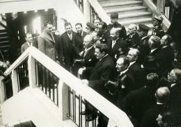 France Lyon Inauguration Palais De La Foire Lebrun Et Herriot Ancienne Photo Meurisse 1932