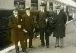 Paris Gare De Lyon De Valera President Irlandais SDN Ancienne Photo Meurisse 1932 - Célébrités