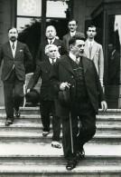 Suisse Geneve SDN Politicien Edouard Herriot Paul-Boncour Ancienne Photo Meurisse 1932