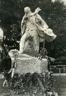 Port De Guernesey Statue De Victor Hugo Ancienne Photo Meurisse 1932 - Famous People