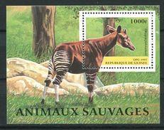 194 GUINEE 1997 - Yvert BF 120 - Okapi - Neuf ** (MNH) Sans Trace De Charniere